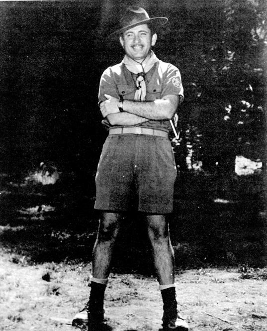 Bob Perin at Philmont Boy Scout camp